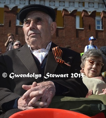 Guests at the Celebration of the 70th Anniversary of Victory over Nazi Germany, Photographed by Gwendolyn Stewart, c. 2015; All Rights Reserved