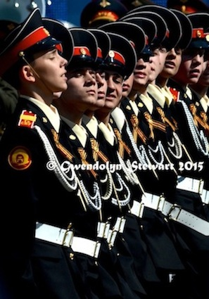 70th Anniversary of the Soviet Victory over Nazi Germany Celebrated in Red Square, Photographed by Gwendolyn Stewart c. 2015; All Rights Reserved