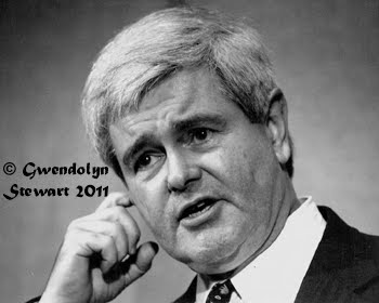NEWT GINGRICH Photographed by Gwendolyn Stewart c. 2012; All Rights Reserved