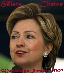 Photograph of HILLARY  RODHAM CLINTON by GWENDOLYN STEWART c. 2009; All Rights Reserved