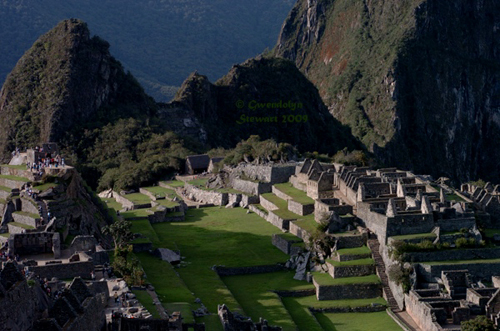 Machu Picchu Photographed by Gwendolyn Stewart, c. 2013; All Rights Reserved