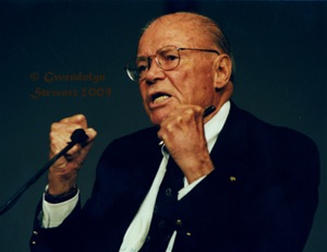 Robert S. McNamara Photographed by Gwendolyn Stewart, c. 2009; All Rights Reserved