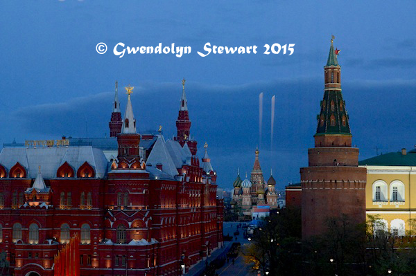 Red Square 70th Rehearsal at Dusk, Photographed by Gwendolyn Stewart, c. 2015; All Rights  Reserved