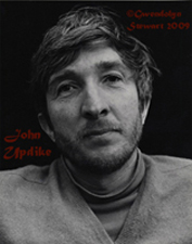 Photograph  of John Updike by GWENDOLYN STEWART c. 2009; All Rights Reserved